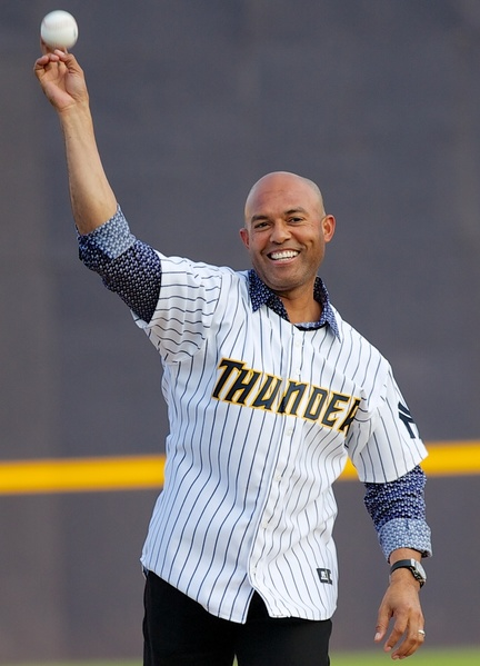 Mariano Rivera.  NOTE: All MLB Yankees photos are unpublished samples.