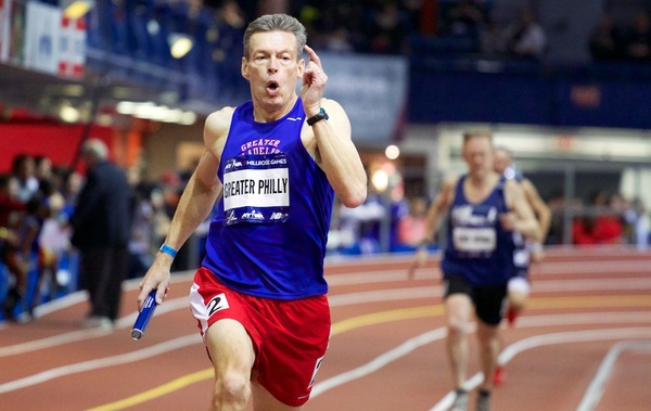 The Millrose Games in New York.