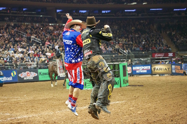 The Professional Bull Riders Monster Energy Buck Off